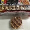業務スーパーの最強お菓子「ベルギーワッフル」アイスを乗せると更に美味しい!