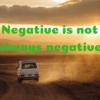 【研究が上手くいかない人へ】Negative is not always negative.