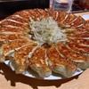 石松の餃子はあっさりと熱々だった。  @浜松  元祖浜松ぎょうざ  石松