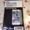 (100均)iphone液晶保護ガラスレビュー