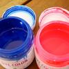 ネットで購入するシルクスクリーン印刷のインクの色が分かりにくい!DYE COLOR(ダイカラー)編 「空・ネオンレッド」