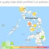 フィリピンのPM2.5ってどんな感じなの?