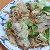 1月3日(日)昼食のしょう油焼きそばと、朝・夕食の煮染め&田作り。