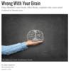 それ貴方の脳がおバカさんなのヨ🙄