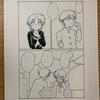 【漫画制作17日目】塗り作業進捗その3 / 構想リセット