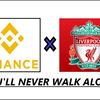 バイナンス(Binance)とリバプール(Liverpool)が業務提携に動き出す
