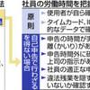 <過労社会 働き方改革の行方> (2)残業168時間は申告の3倍 - 東京新聞(2017年4月3日)