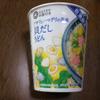 【カップラーメン】西友 アサリとハマグリの風味 貝だしうどん 食べてみた
