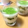 抹茶ティラミスを作る(植物性ホイップ+クリームチーズ)