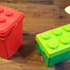1歳半から遊べる!みどりのコンテナで本格レゴデビューしたよ!
