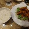 大手町【魯香酒楼】鶏肉の唐揚げ定食 ¥730