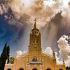 光差すアレグア教会