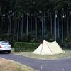 師走のぼっちキャンプVol.1@青山ハーモニーフォレスト