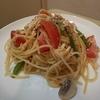 鶏のミートソースの作り方。~鶏のラグーのスパゲッティー、フレッシュトマトとタイム~