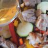 夏野菜と鶏もも肉のビール煮 余ったビールは煮込んじゃお!