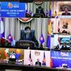 ラオス・トンルン首相:新型コロナ対策で連携、ASEAN+日中韓首脳と協議
