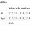 .NET Core 2.1.5にアップデートした