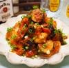 【レシピ】鶏むね肉と茄子のミートソース