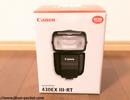室内撮影で大活躍!初外部ストロボ CANON 430EX III-RTを購入しました!