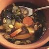 ✴︎レンティル、ケール、バターナッツスクワッシュのスパイススープ/ツナアボカド芽キャベツのサラダ(覚え書き)