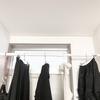 【画像公開】脱いだ洋服の一時置き収納のこだわりとおすすめグッズ。