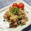 お弁当のおかずに!豚肉の柚子胡椒ぽん酢炒めのレシピ