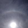 光輪と彩雲