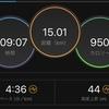12/23 マラソン練習 15キロジョグ