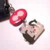 スプラトゥーン2のネリメモリー(ガチャガチャ)でイヤホンジャックを作りました
