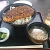 信州名物「ソースかつ丼」長野県駒ヶ根市の駒ケ岳サービスエリアにて