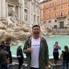 ローマのトレビの泉で、決死の覚悟のチャレンジ!?