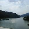 岐阜県トラベルプラン③:そして恵那峡へ。ついに五平餅コンプリート!家族旅行の宿泊は中津川温泉「ホテル花更紗」:プールとファミコンあります。