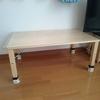 【無印良品】パイン材折り畳みローテーブルを買いました。
