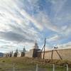 モンゴル旅行 4日目 世界遺産 カラコルム エルデネ・ゾー寺院へ
