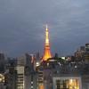 お上りさんの東京タワー