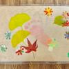 【今週のお題〜紅葉】区民ひろばで赤ちゃんとつくる紅葉アート