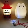 これが、うちのライト・トリオだ! ~ランタン ミスター 、萌え猫 ランプ 、mini blub~