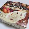 ローソン「カッサータ ドライフルーツとナッツとチーズのアイス」もkiriのクリームチーズ入りでドライフルーツ感満載♪