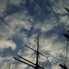 空に描く (帆船 日本丸)