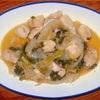鶏肉と玉ねぎのゴマポン炒め ヘルシオホットクックで自炊(96)