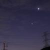 10月13日(火)晴れ 金星、火星、木星、水星
