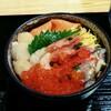 【美食千歳】北海道物産展にて「海の幸 浸け丼」でランチ