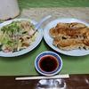 皿うどんと餃子で野菜を過剰摂取出来るお店 @鉾田 日和り