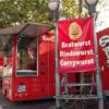 Bornheim-mitte駅の市場
