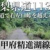 【動画】【険道】山梨県道113号線 甲府精進湖線