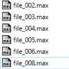 【MaxScript】所謂バッチ処理ってやつ