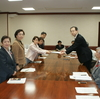 12月県議会への日本共産党県議団、知事申し入れを行いました。