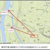 台風19号による決壊の大部分は本・支流の合流付近