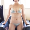 安位薫【B92 Gカップ爆乳新人グラドルの水着画像】