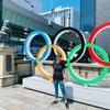 オリンピックムード満載の室町エリア